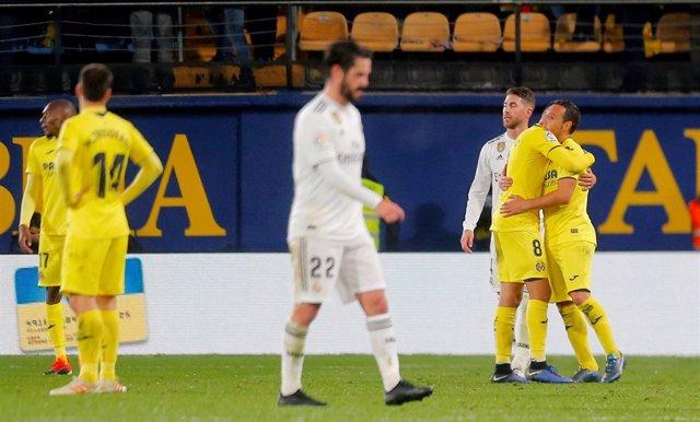 El Real Madrid se pierde en la gran noche Cazorla