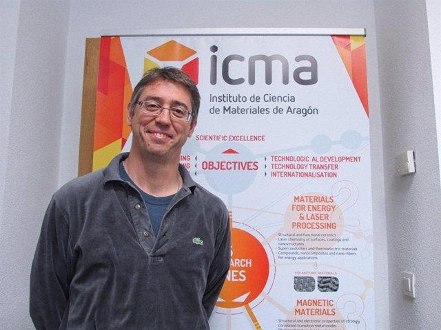 El investigador del ICMA., Jorge Lobo