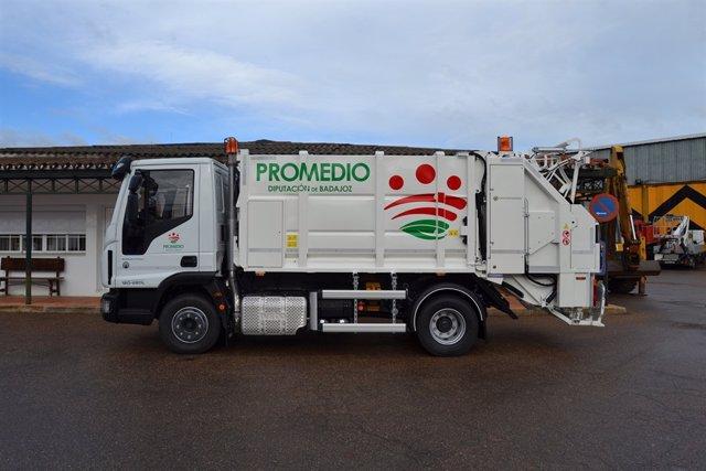 Camión de recogida de residuos
