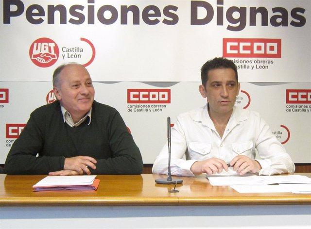 Temprano (i) y Andrés (d) 04-04-2018
