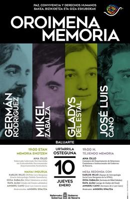 Cartel de la jornada 'Tejiendo Memoria'