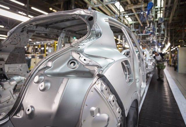 Porducción del Nissan Juke, vehículos, planta de producción, fabricación
