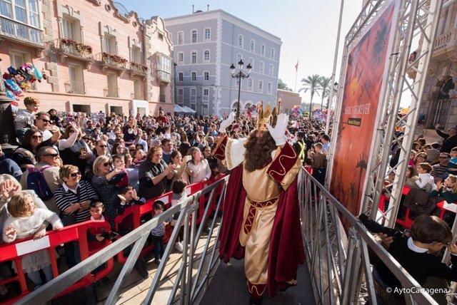 Cabalgata de Reyes en Cartagena