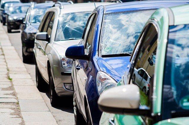 Atasco, coches, tráfico