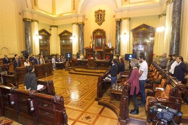 Pleno A Coruña