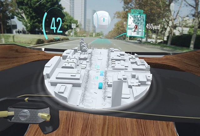 """Nissan presentará un sistema que permite al conductor ver """"lo invisible"""""""
