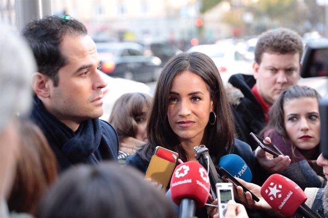 La portavoz de Cs en Madrid, Begoña Villacís