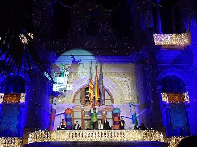 Imagen de archivo de una Cabalgata de Reyes en València