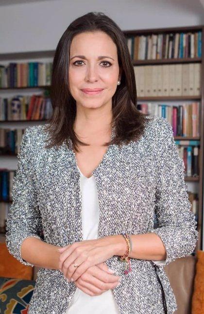 Impulsan la candidatura de la opositora venezolana María Corina Machado a los Premios Princesa de Asturias 2019