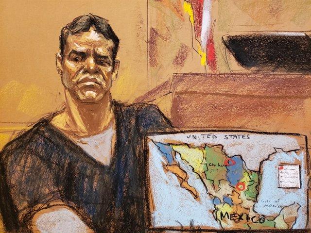 Vicente Zambada Niebla testifica en el juicio contra 'El Chapo'