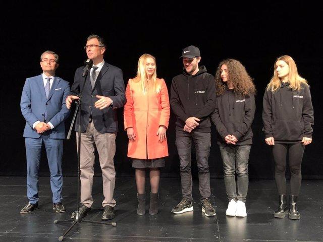 Imagen de la presentación del espectáculo
