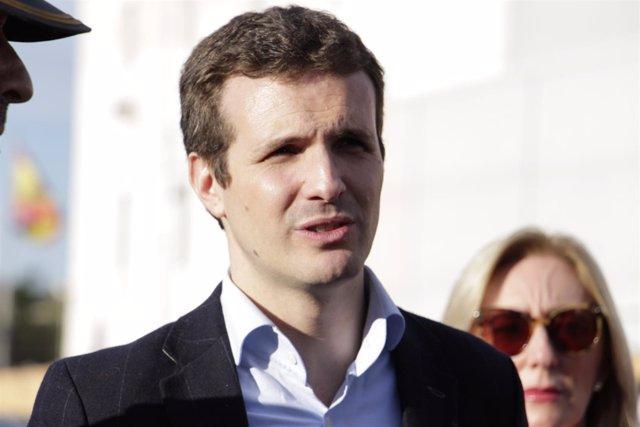 El Presidente del Partido Popular, Pablo Casado, visita Melilla