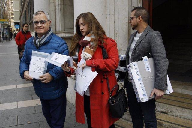 Los periodistas de Europa Press Baleares y El Diario de Mallorca llegan a depend