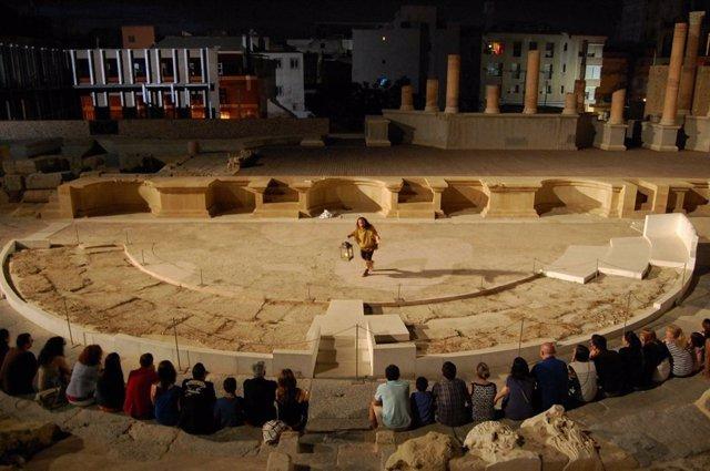 Visitas nocturna Teatro Romano