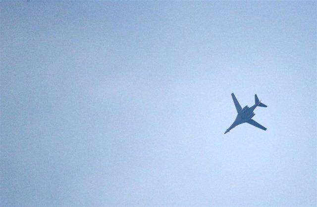 Avión de la coalición estadounidense en Siria