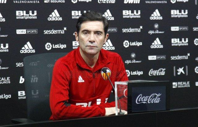 Marcelino, entrenador del València CF