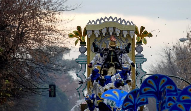 Imagen de la Cabalgata de Reyes Magos de Sevilla
