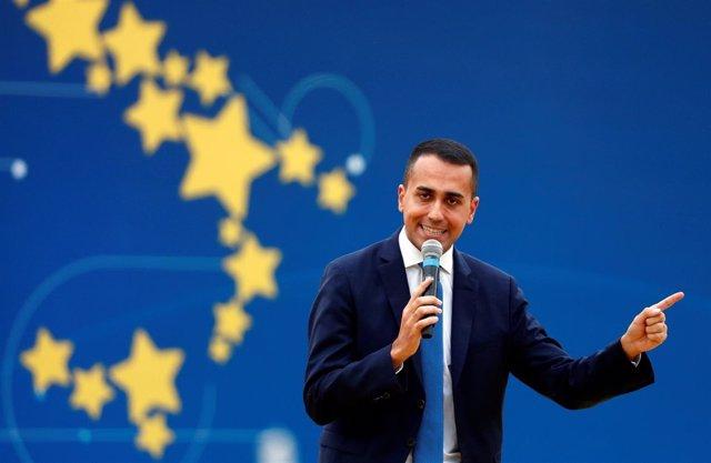 El viceprimer ministro italiano Luigi di Maio