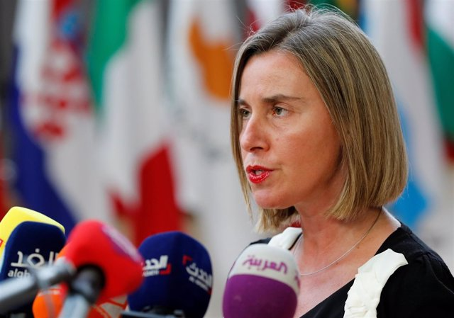 Federica Mogherini, representante de UE para Asuntos Exteriores y Seguridad