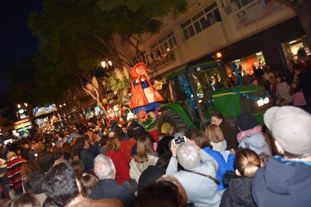 Cabalgata de Reyes, en una imagen de archivo
