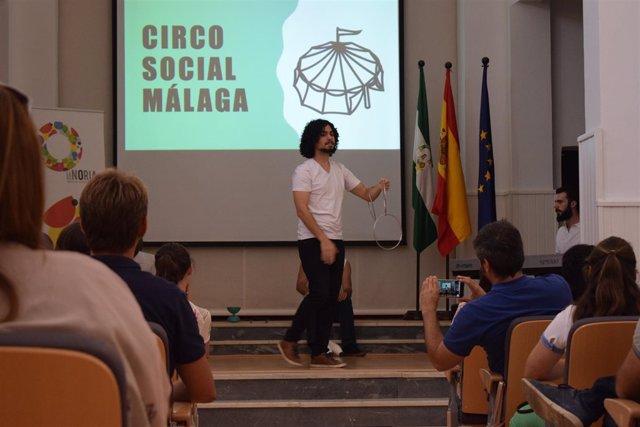 La Noria Málaga curso formación escuela impacto social circo programa innovación