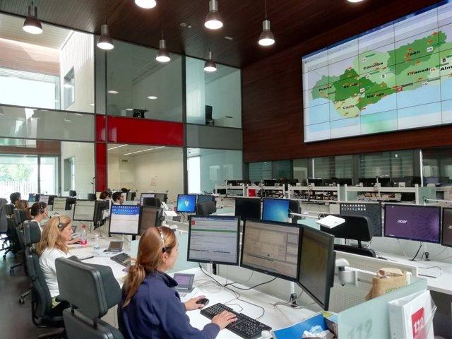 Sala de Emergencias 112 Andalucía
