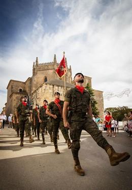 Parada militar Saboya