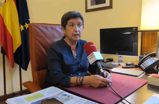 La delegada del Gobierno en Catalunya, Teresa Cunillera.