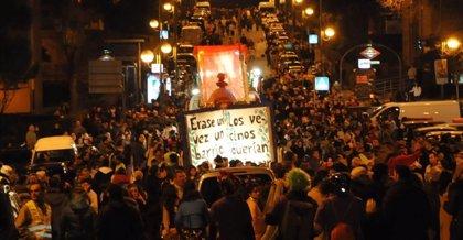 El Baltasar de la Cabalgata de Hortaleza (Madrid) que llegó a España cortándose las manos en la valla de Ceuta