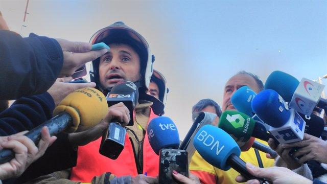 El cap d'Emergncies de la Regió Metropolitana Nord, Eduard Martínez