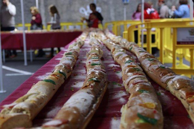 Roscón de Reyes en La Orotava (Tenerife)