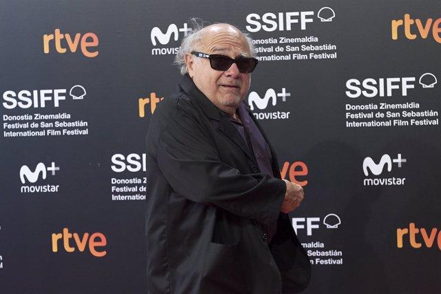 Danny DeVito en el 66º Festival de Cine de San Sebastian