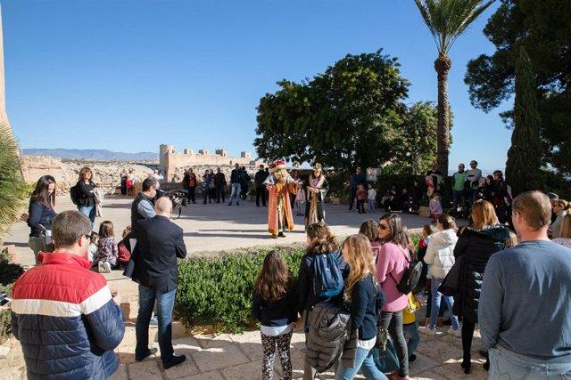 Visita teatralizada 'Rey Mago en la Alcazaba'