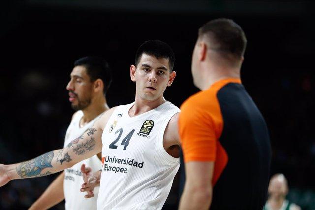Basket: EuroLeague - Real Madrid v Panathinaikos