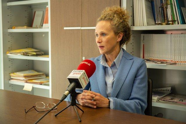 Entrevista a Merc Caso, jutge degana de Barcelona