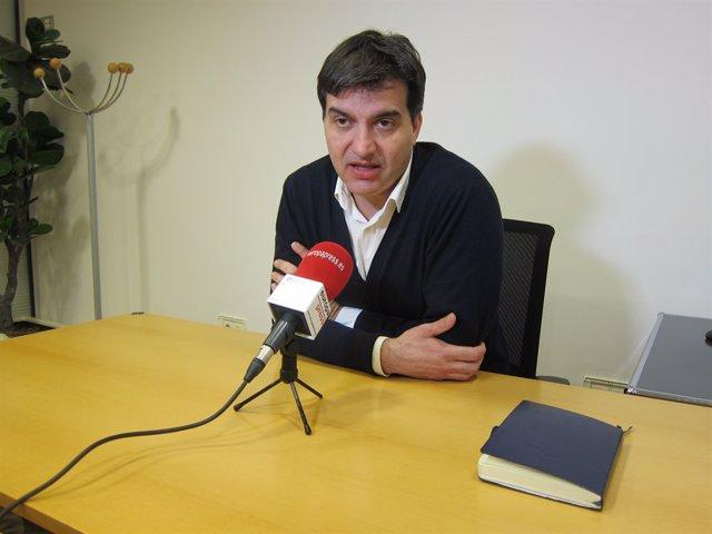 El líder d'ERC en el Parlament, Sergi Sabri.