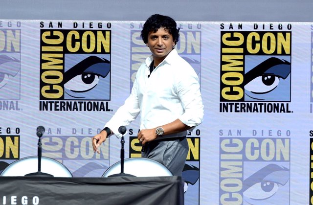 M. Night Shyamalan en Comic Con 2018