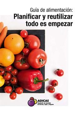 Portada Guía de alimentación de ADICAE