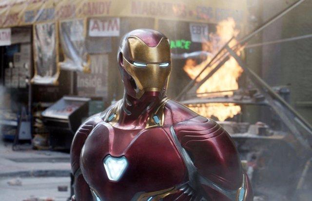 Iron Man en Vengadores: Infinty War
