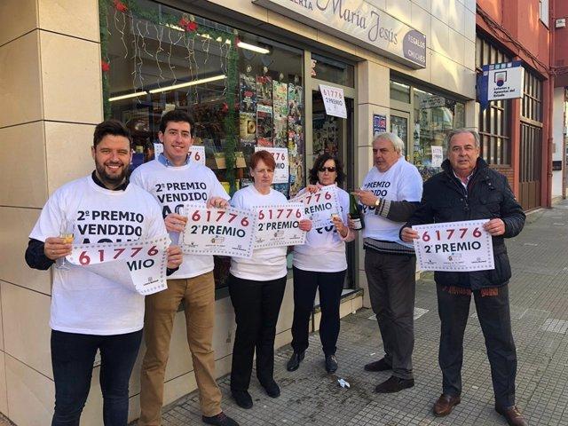 Vendido en Santander un décimo del segundo premio de El Niño