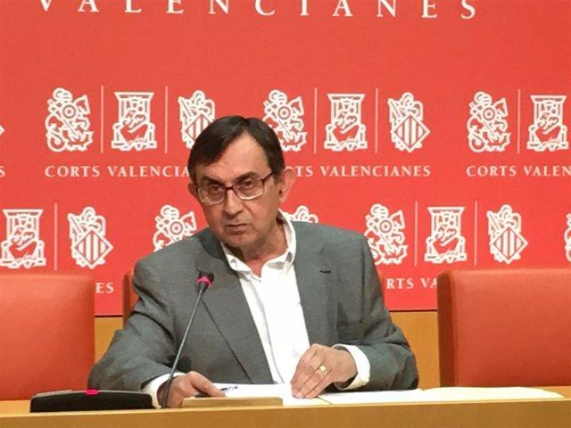 El diputado del PP, Vicente Casanova