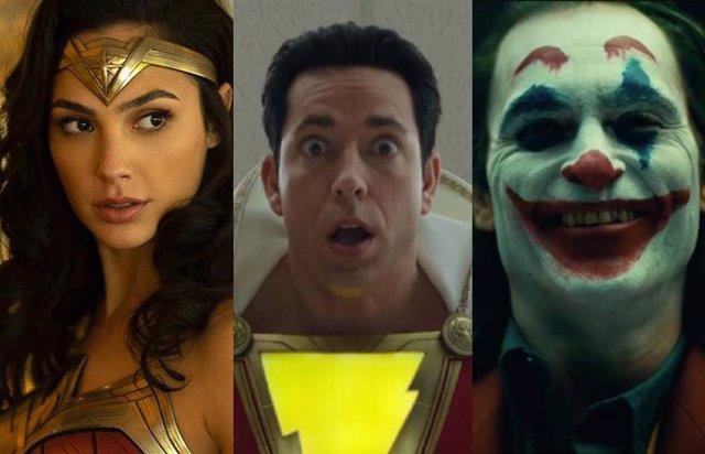 Películas basadas en personajes de DC Comics