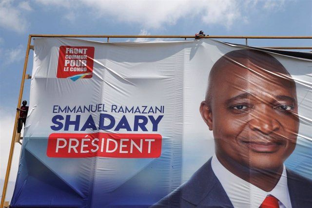 Cartel electoral de Emmanuel Ramazani Shadary