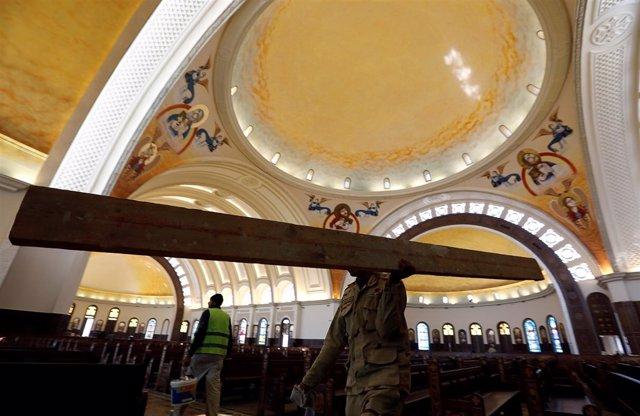 La catedral de la Natividad, la más grande de Oriente Próximo
