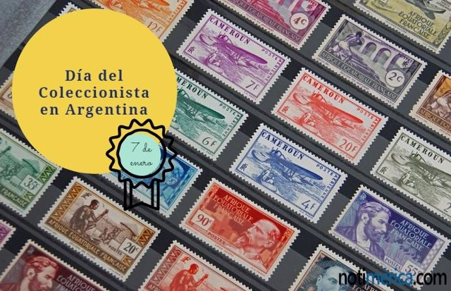 Día del coleccionista en Argentina