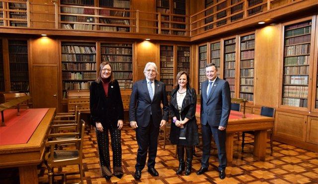 Marta Angerri, Josep Sánchez Llibre, Cristina Gallach i Ángel Simón