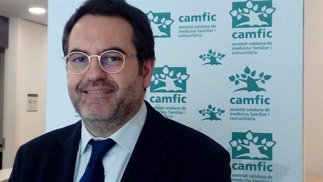 El president de Camfic, el doctor Antoni Sisó (arxiu)