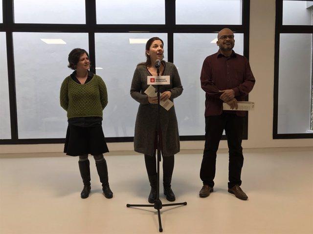 Gala Pin, Laia Ortiz i Miquel ngel Essomba