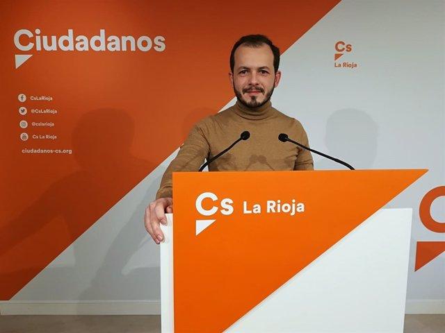 El portavoz autonómico de Ciudadanos, Pablo Baena