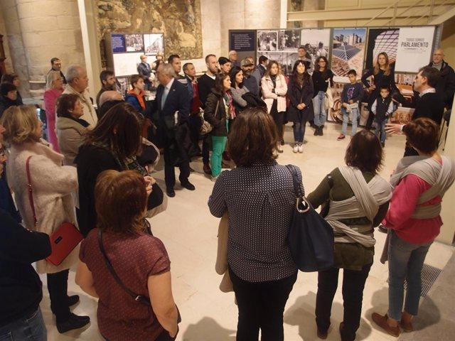 Visita exposición del Parlamento de La Rioja
